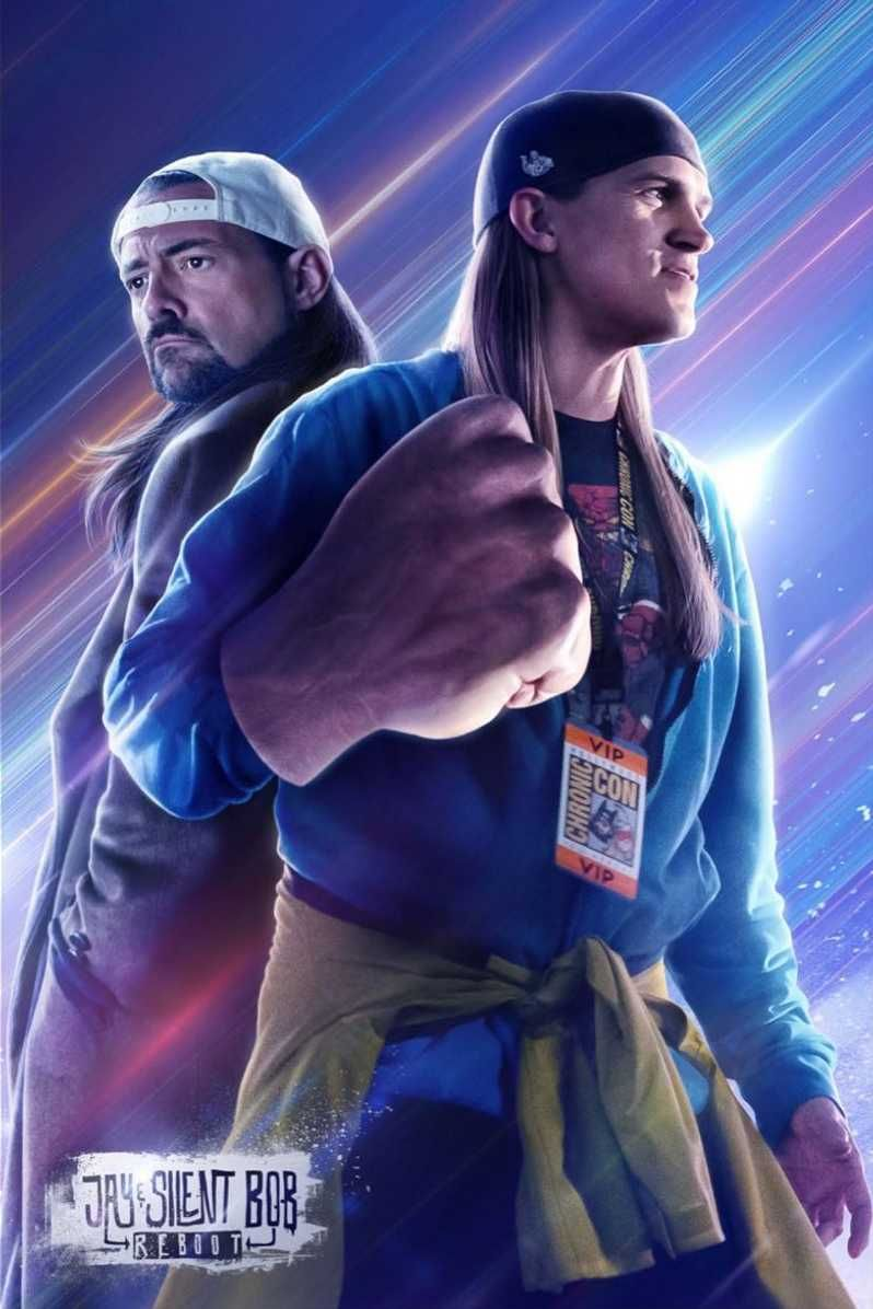 Jay y Bob Silencioso Reboot Nuevo Poster Vengadores Endgame