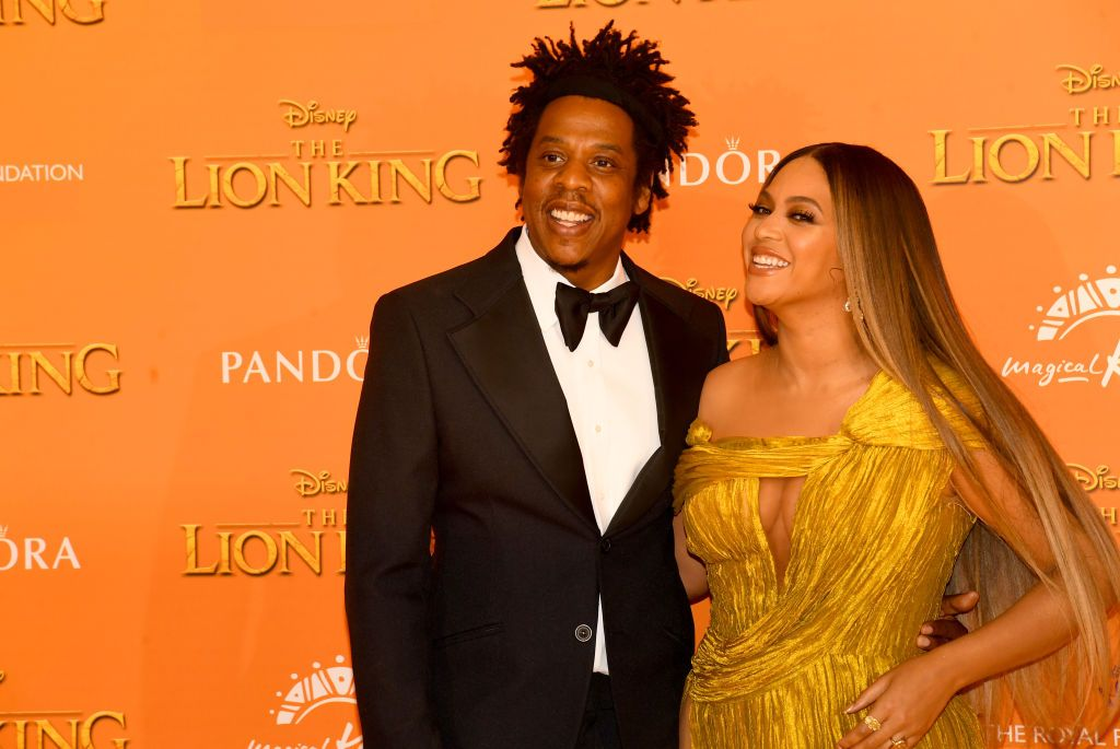 Beyonce Looks Glam at Day 2 Of Gala With Jay Z