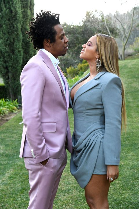 los angeles, california   january 25 l r jay z and beyoncé attend 2020 roc nation the brunch on january 25, 2020 in los angeles, california photo by kevin mazurgetty images for roc nation