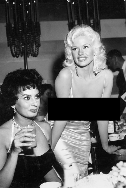 jayne mansfield scandalous dress