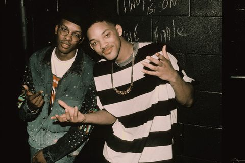 DJ Jazzy Jeff & The Fresh Prince Pose For A Portrait In Minnesota