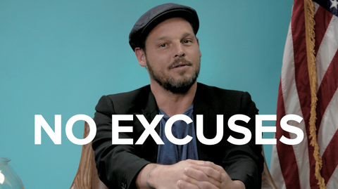 """Justin Chambers """"No Excuses"""""""