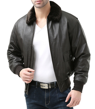 JCPenney Leather Jacket