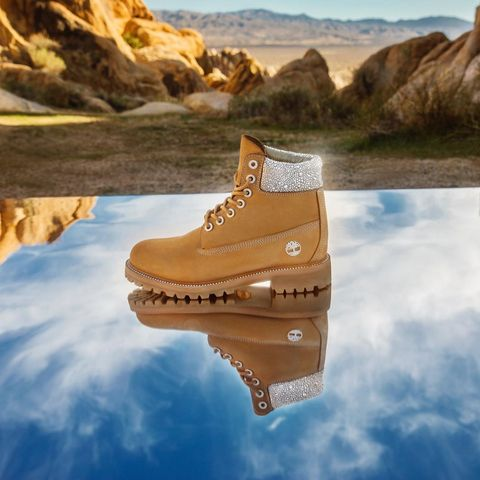 jimmy choo與timberland聯名登山靴