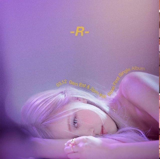 rose個人專輯《r》刷新blackpink成員單飛最佳成績!