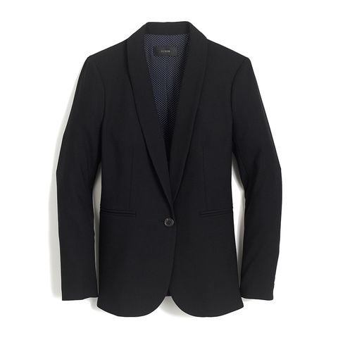 j. crew parke black blazer