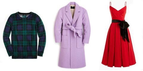 Clothing, Robe, Plaid, Pattern, Green, Pink, Tartan, Purple, Outerwear, Nightwear,