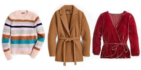 Clothing, Outerwear, Robe, Overcoat, Coat, Sleeve, Jacket, Nightwear, Sweater, Beige,