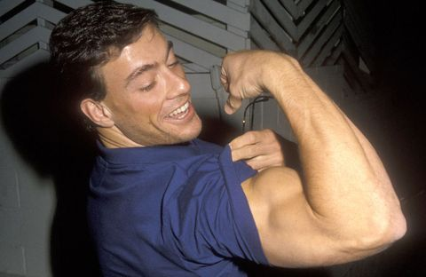 Entrenamiento de brazos de Jean-Claude Van Damme