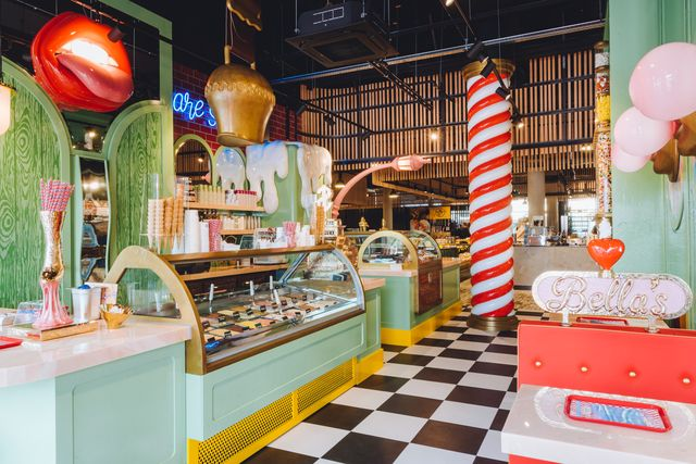 bella's ice and candy store