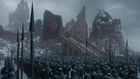 Las imágenes del último capítulo de 'Juego de tronos'