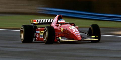 Jean Alesi, Grand Prix Of Great Britain