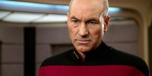 Patrick Stewart as Captain Jean-Luc Picard, Star Trek: Next Generation