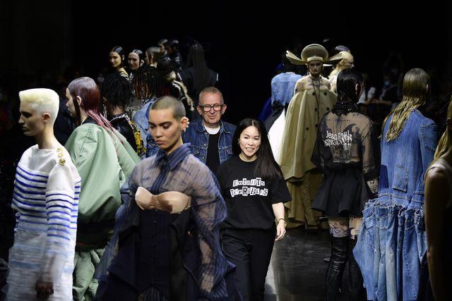 jean paul gaultier runway paris fashion week  haute couture fall winter 2021 2022