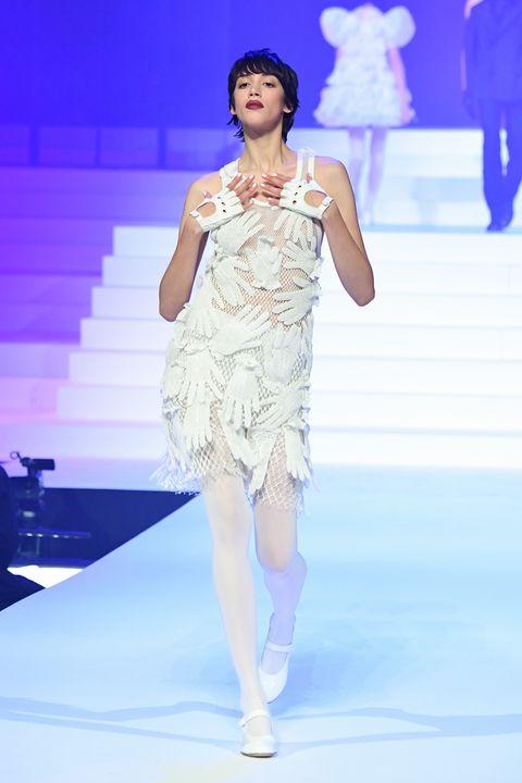 Jean Paul Gaultier Fashion Week Haute Couture SS20 in Parijs