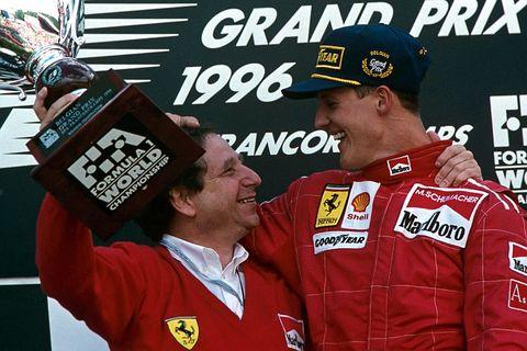 Jean Todt, Michael Schumacher, Grand Prix Of Belgium