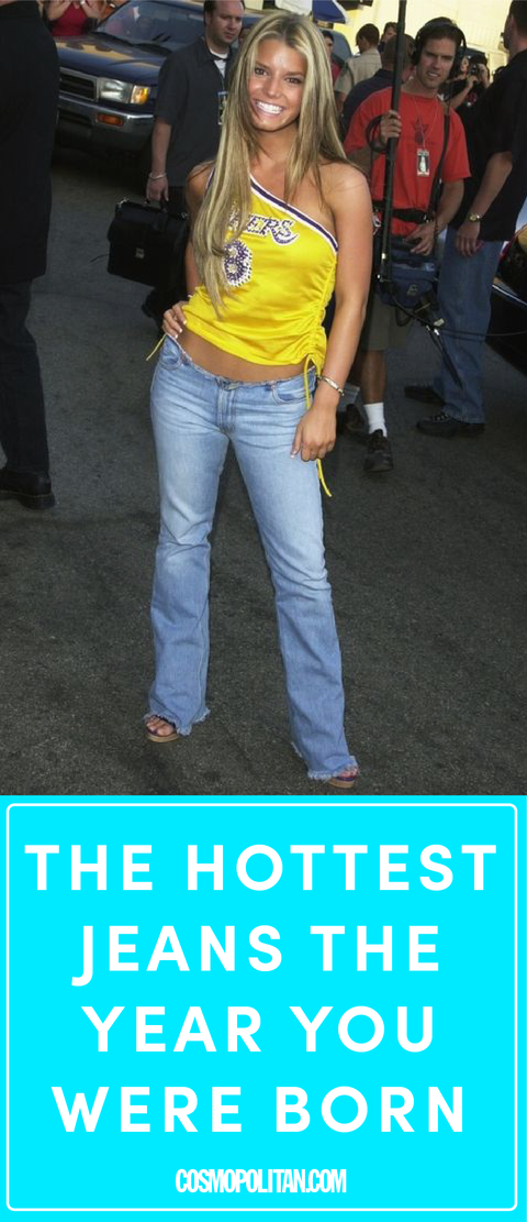 9da1c6f160 The Hottest Jeans From the Year You Were Born Until Today