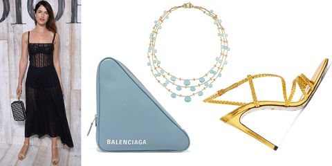 Fashion accessory, Fashion, Handbag, Bag, Triangle, Jewellery, Turquoise,