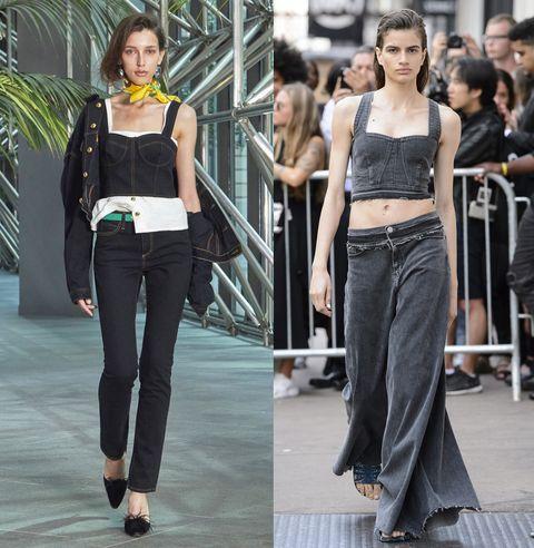 Jeans e denim non vanno mai fuori moda  per la primavera estate ci sono  almeno 953a190da39