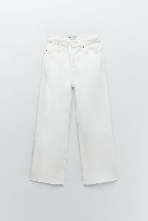 jeans moda primavera estate 2021 bianchi zara