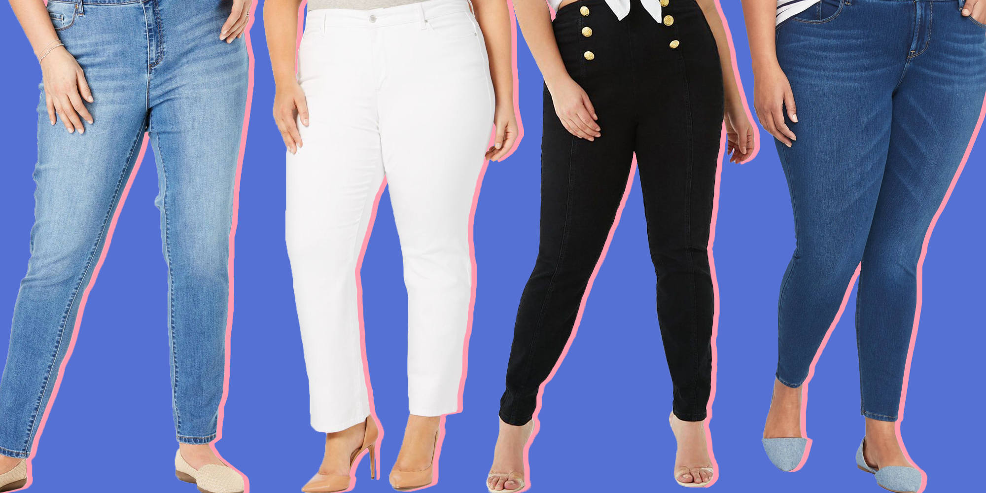 f6b152bf628a2 16 Plus Size Jeans In Every Style 2018 - Skinny, High Waisted, More