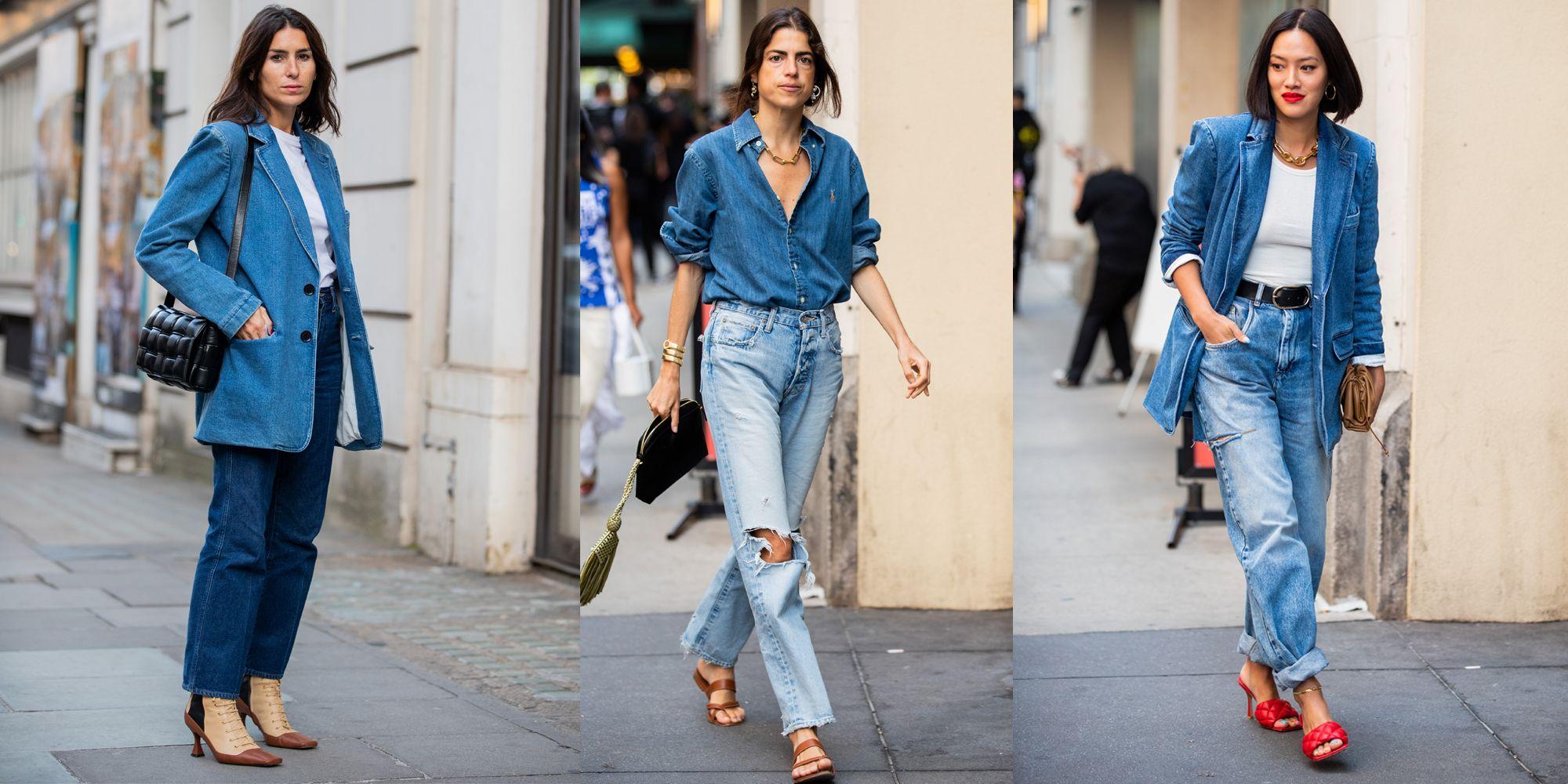 Jeans moda autunno 2019 i modelli e gli abbinamenti in total