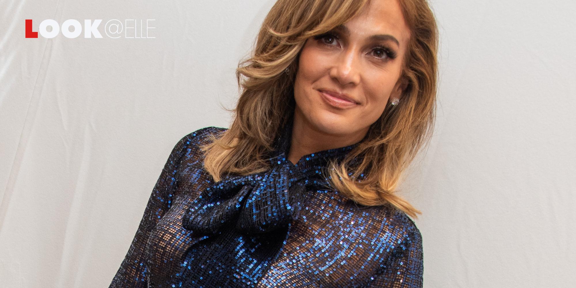 I jeans larghi di Jennifer Lopez sono la ricetta per i look rilassati e comodi dell'Autunno Inverno 2019 2020