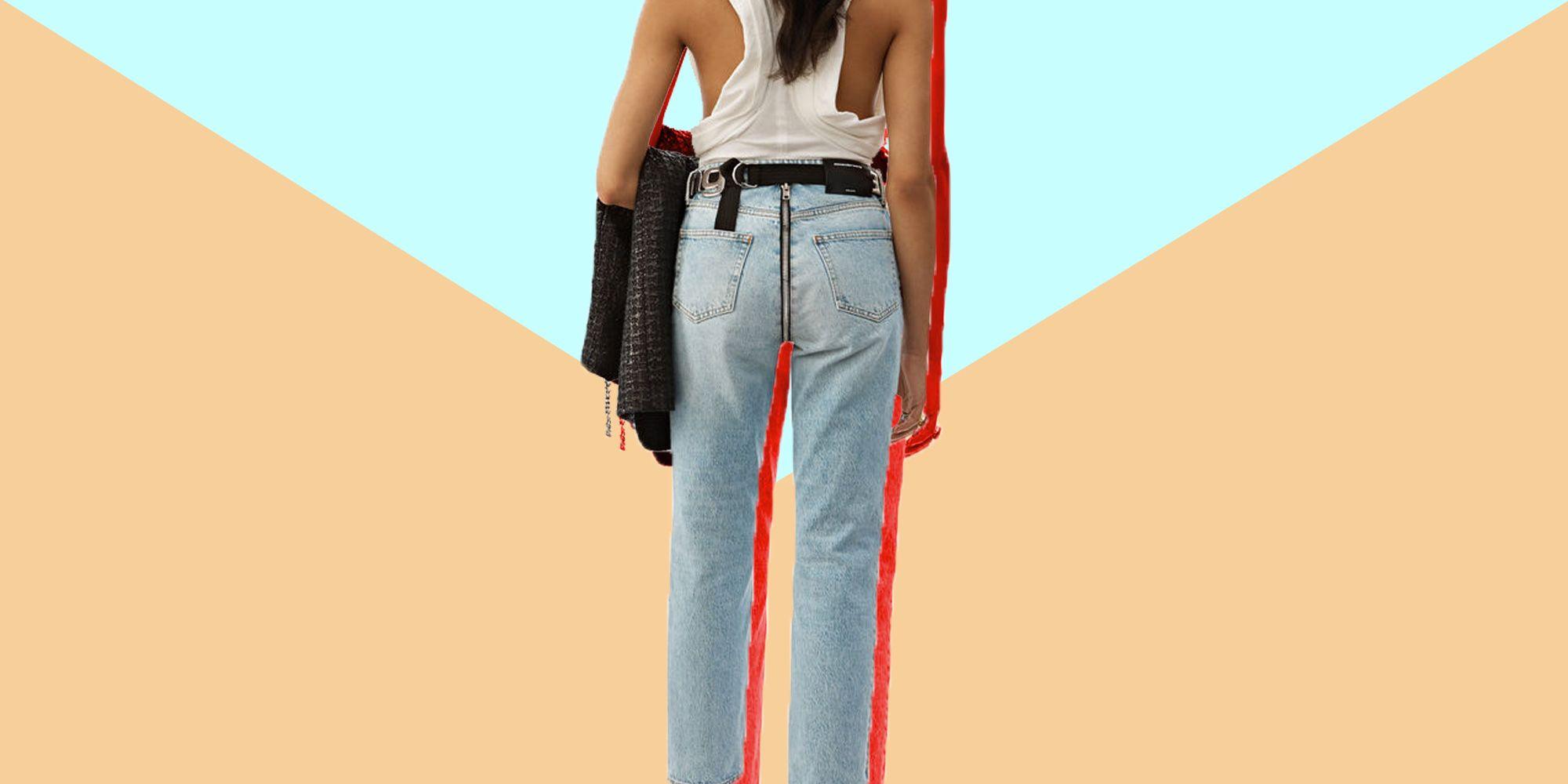 e5bdb5b729bd jeans-primavera-estate -2019-alexander-wang-jeans-zip-sedere-foto-1550506660.jpg