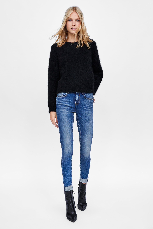 I jeans skinny femminili sono trendy, guarda le immagini della gallery e  scegli i modelli