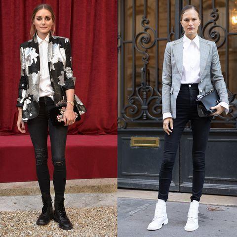 I jeans skinny femminili sono trendy, guarda le immagini della gallery e scegli i modelli comodi e glamour per l'inverno 2019 con i pantaloni attillati.