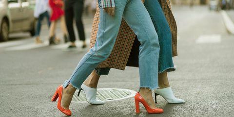 Street fashion, Clothing, Human leg, Footwear, Leg, Ankle, Snapshot, Fashion, Shoe, Waist,