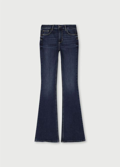 jeans moda inverno 2021 vita alta