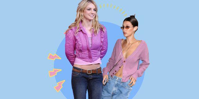 i jeans a vita bassissima tornano di moda