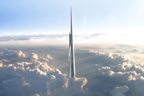 Sky, Atmosphere, Skyscraper, Atmospheric phenomenon, Cloud, Aerial photography, Tower, Space, Photography, Geological phenomenon,
