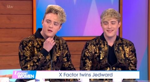 "Jedward say X Factor ""definitely wants"" them for All Stars series"