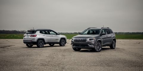 The Jeep Cherokee Takes On Comp