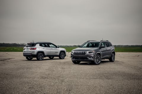 2019 jeep cherokee vs. 2019 jeep compass - which is the