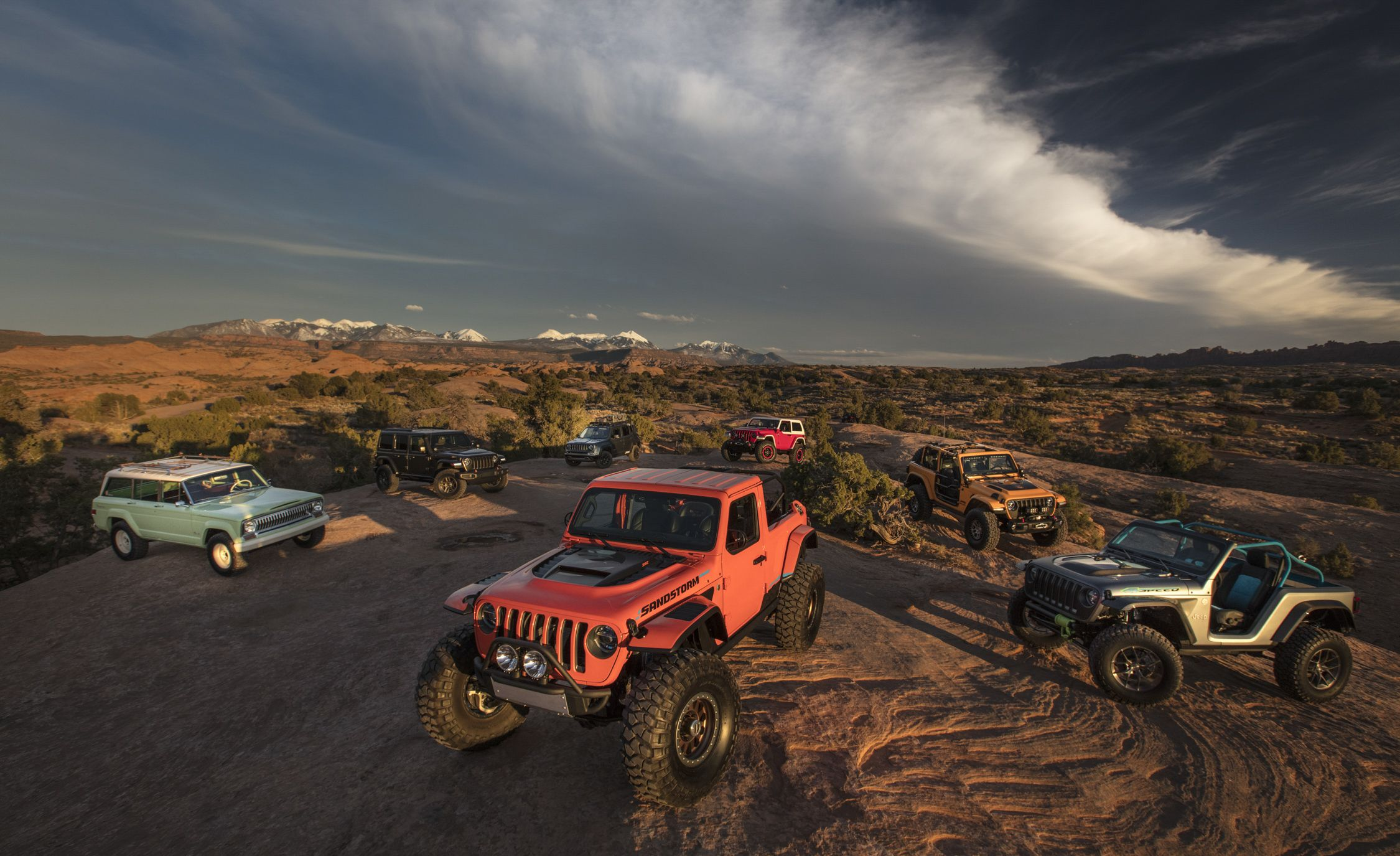 Off-Roading in the Easter Jeep Concepts and the All-New