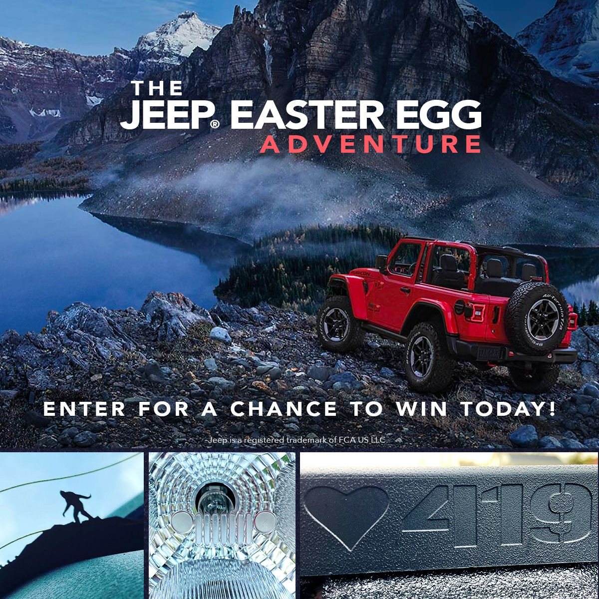 Design The Next Easter Egg Win A Jeep