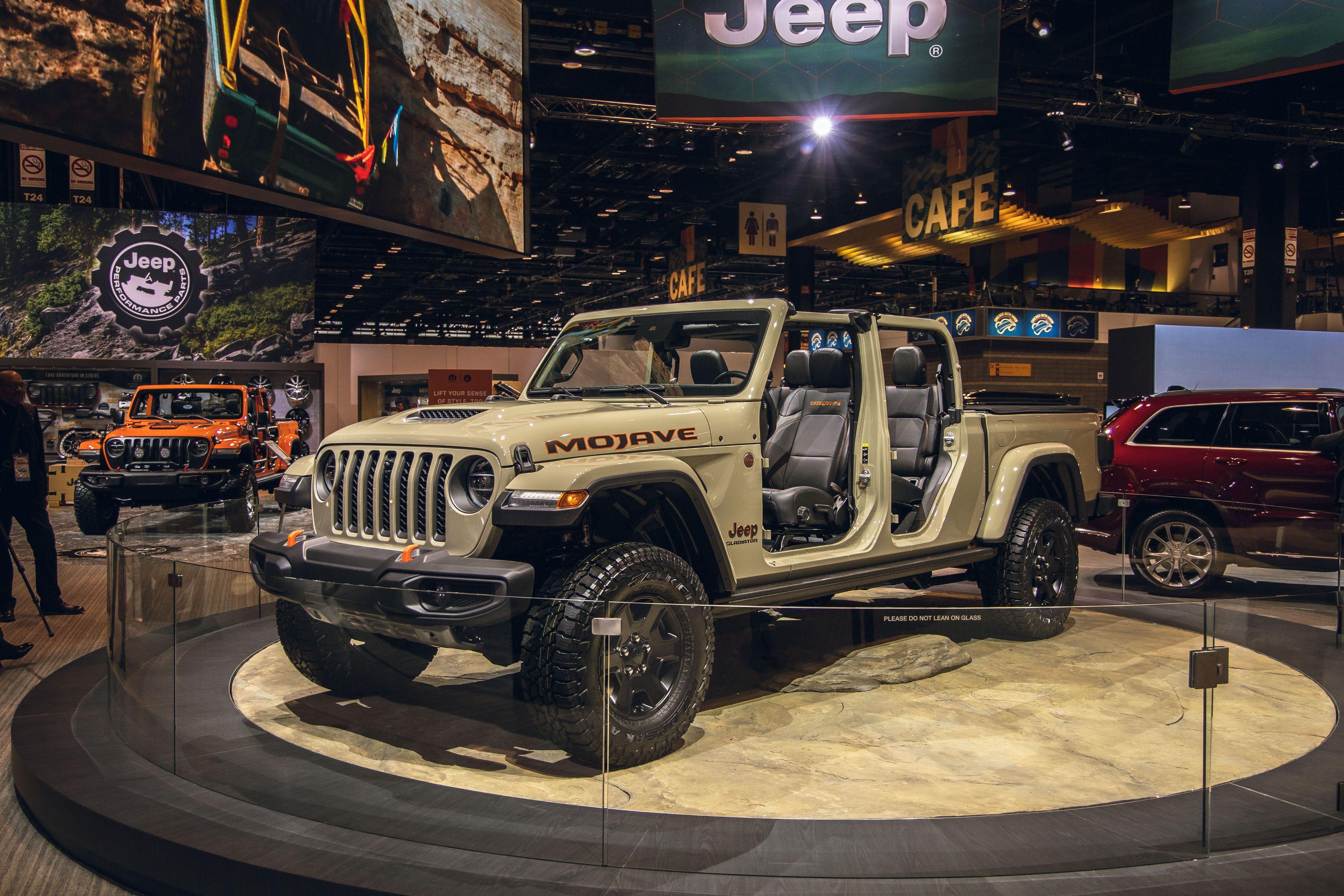 Jeep Mojave Sand Gladiator
