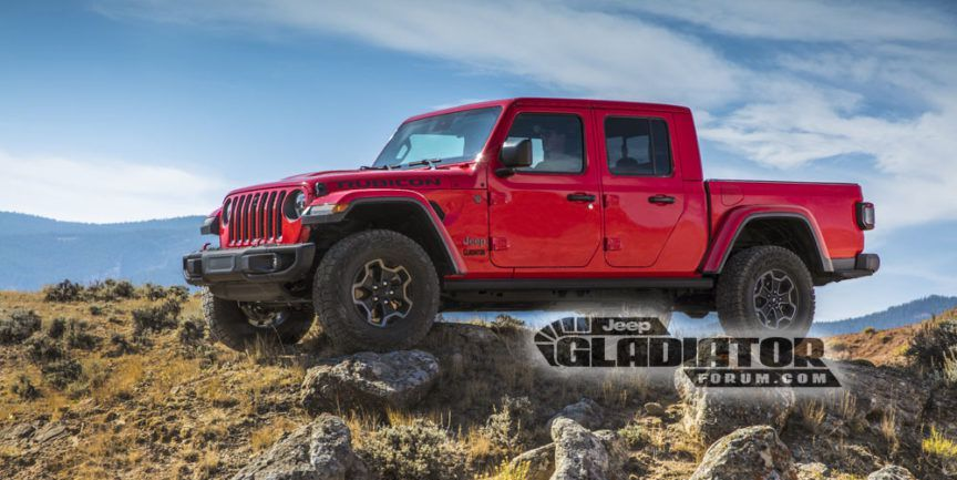 This Is the 2020 Jeep Gladiator Pickup, Completely Undisguised