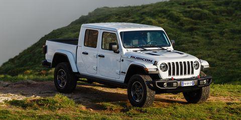 Jeep Gladiator: El pick-up de Jeep, foto a foto
