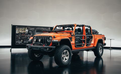 Jeep S 2019 Easter Safari Concepts Gladiator And Pickup