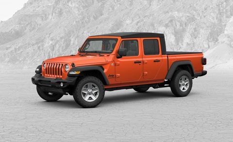 2020 Jeep Gladiator Jt Pickup Trim Levels Pricing Specifications