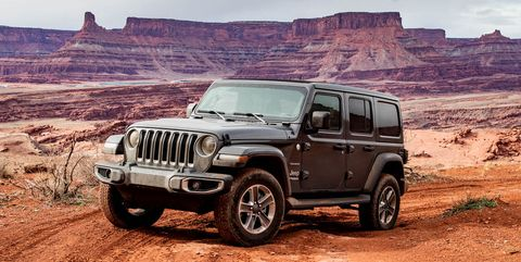 2020 Jeep Wrangler Expands Engine Options with a New V-6 eTorque Hybrid