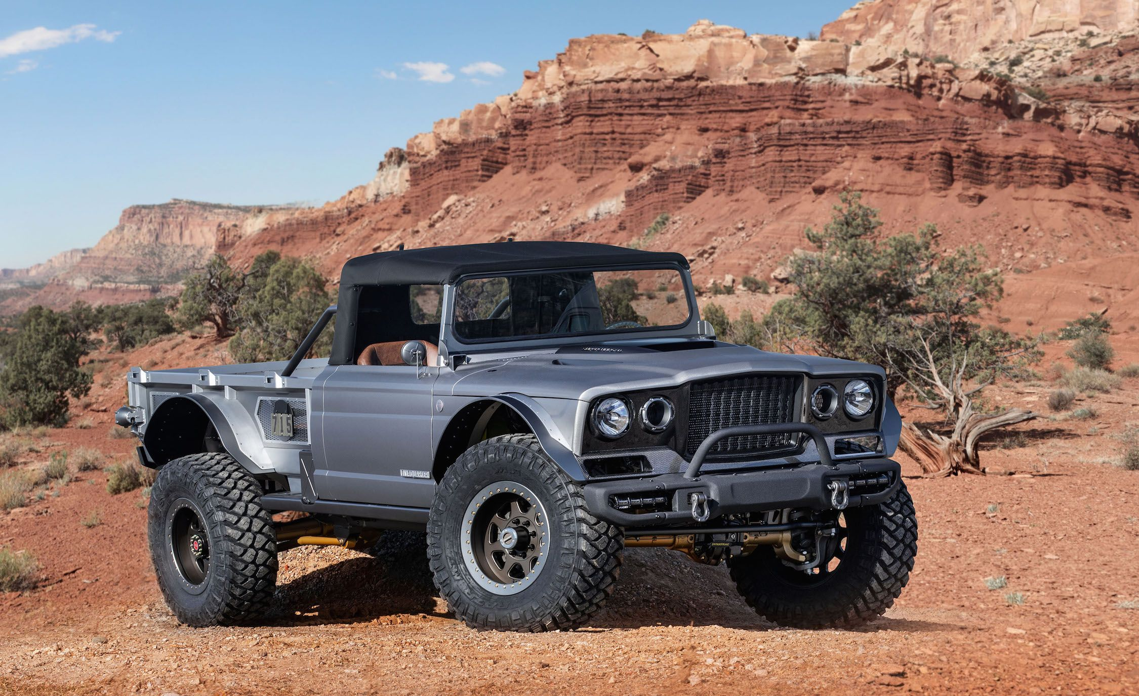 The Jeep Five-Quarter Concept Channels the Brand's Military History