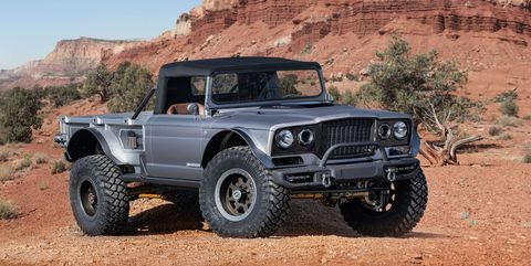 The Jeep Five Quarter Is Based On 1968 M715 2019 Moab Easter Safari