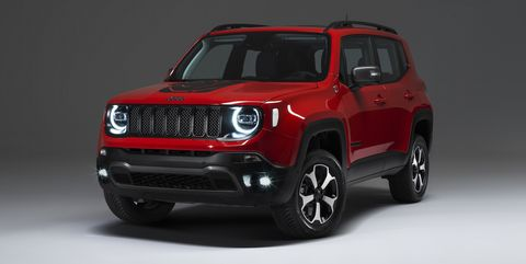 Jeep Renegade Comp To Get Plug In Hybrid Models