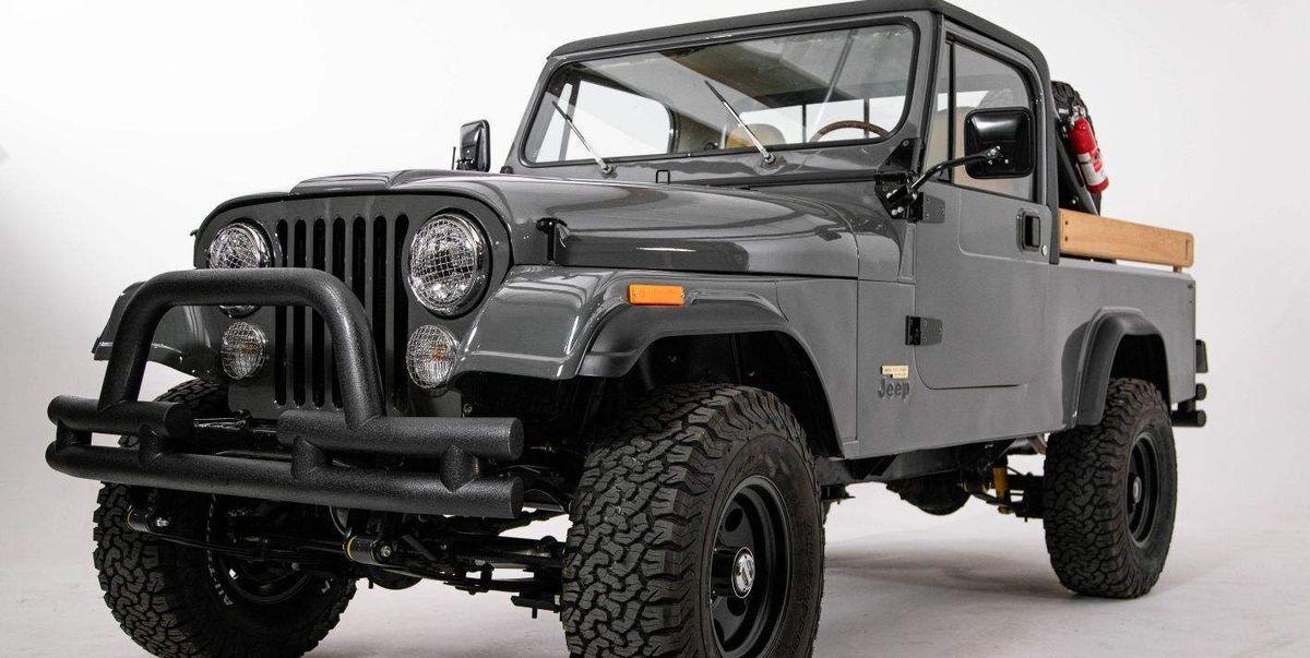 Outdoors Retailer Beautifully Modernizes Jeep CJ-8 Scrambler