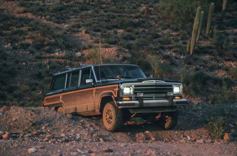 1990 jeep wagoneer, 1990 range rover, 1990 toyota land cruiser